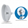 Ubiquiti PowerBeam PBE-5AC-500-ISO, 27dBi, 720MHz, 128MB, 22dBm, 1xGigabit, 450+ Mbps, 25+ km