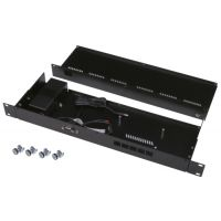 "1U 19"" Rackmount case for Mikrotik RB450 series"
