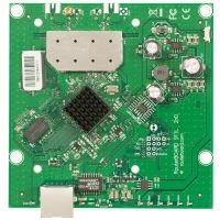MikroTik Routerboard 911 Lite2 , 600Mhz CPU, 64MB RAM, 1xEthernet, onboard 2Ghz single chain wireless, RouterOS L3