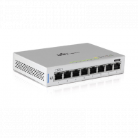 Ubiquiti UniFi Switch US-8, 8xGigabit, 1xPoE Passthrough Port