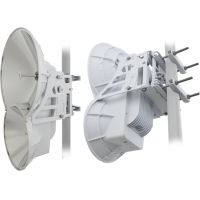 Ubiquiti AF-24, AirFiber 24 GHz, 33dBi TX, 38dBi RX, 1xGigabit, 1xEthernet, 1.5+Gbps, 13+km