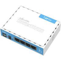 MikroTik RB941-2nD, hAP lite, 1.5dBi, 22dBm, 650MHz, 32MB, 2.4GHz, 4xEthernet, L4