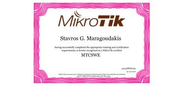 MTCSWE - MikroTik Certified Switching Engineer