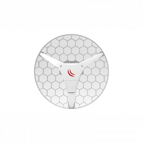 MikroTik RBLHG-5HPnD, LHG HP5, 24.5dBi, 28dBm, 600MHz, 64MB, 5GHz, 1xEthernet, L3