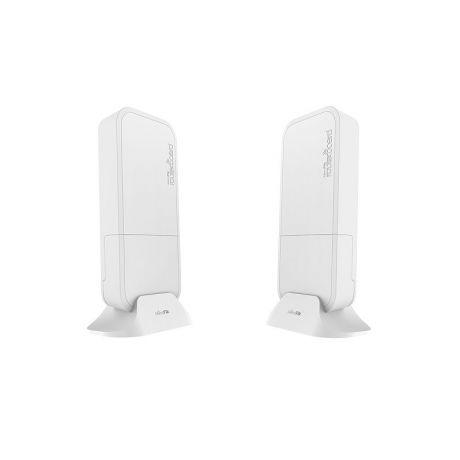 MikroTik RBwAPG-60ad kit, Quad-Core 716MHz, 256MB, 60GHz, 1xGigabit, L3
