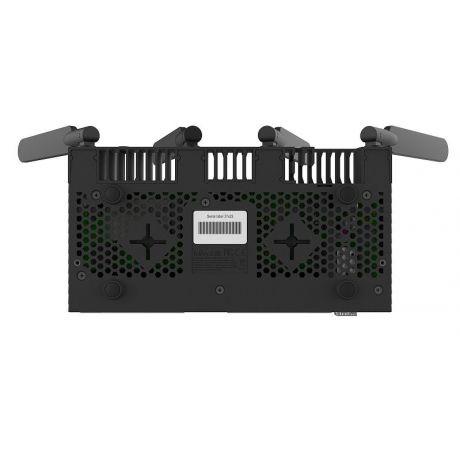 MikroTik RB4011iGS+5HacQ2HnD-IN, 3dBi, 29dBm, 2x2 @ 2.4GHz, 3dBi, 33dBm, 4x4 @ 5GHz, 4x1.4GHz, 1GB, 10xGigabit, 1xSFP+, PoE out, L5