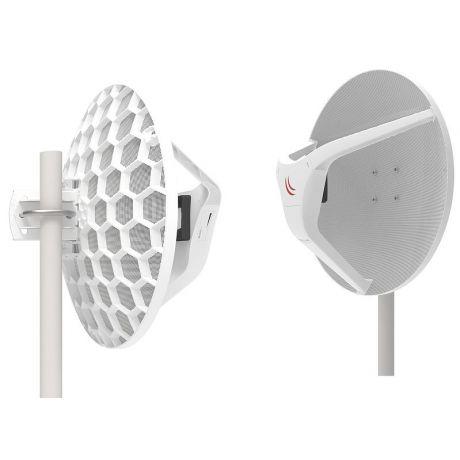 MikroTik RBLHGG-60adkit, Wireless Wire Dish, 60GHz, 1Gbit full duplex up to 1500m, Quad-Core 716MHz, 256MB, 1xGigabit, L3