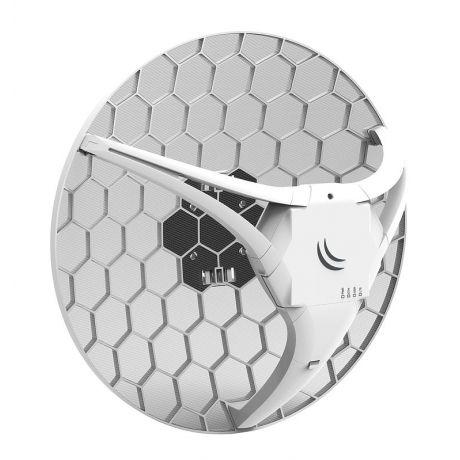MikroTik RBLHGR&R11e-LTE, LHG LTE kit, 17dBi 25 degree antenna, 650Mhz, 64MB, 2G/3G/4G/LTE, 1x Ethernet, 1x Mini SIM, L3