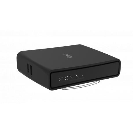 MikroTik RBD52G-5HacD2HnD-TC, hAP ac², 2.5dBi, 27dBm 2x2 @ 2.4GHz, 2.5dBi, 26dBm, 2x2 @ 5GHz, Quad-Core 716MHz, 128MB, 5xGigabit, PoE in, USB, L4
