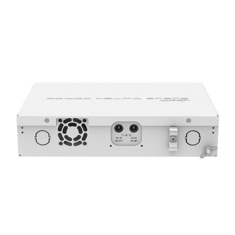 MikroTik CRS112-8P-4S-IN, 400MHz, 128MB, 8xGigabit, 4xSFP, PoE output for 8 ports, L5