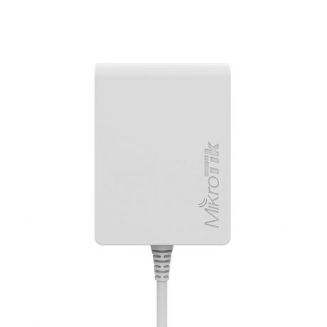 MikroTik PL7400, PWR-Line, Power adapter with PWR-LINE functionality for microUSB powered MikroTik router